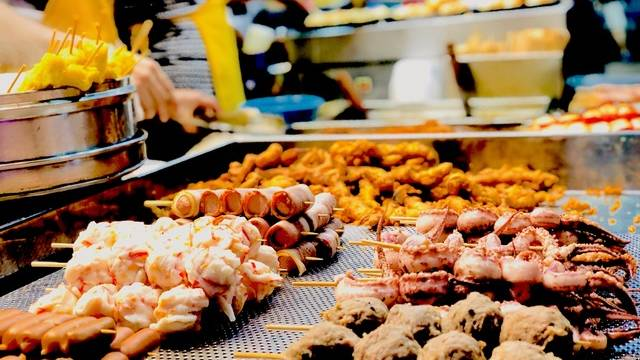 Mongok street food is a feast for the senses