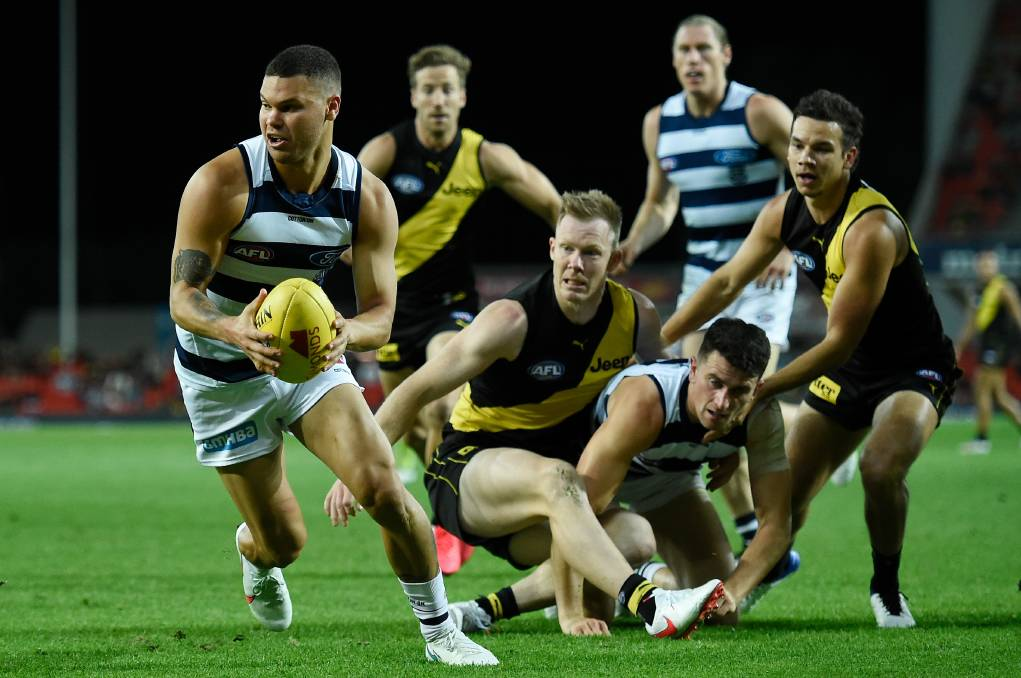 LAST ONE STANDING: Who will take home the premiership cup - Geelong or Richmond? Picture: Getty Images